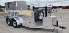 6x12 All Aluminum Dump Trailer