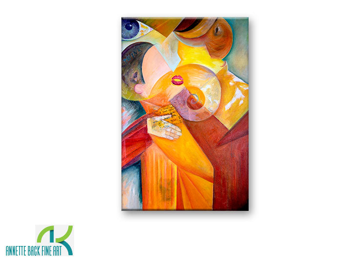 The Kiss by Annette Back - 24x36