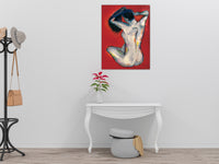 Bather (Homage to Degas) by Annette Back - 22x28