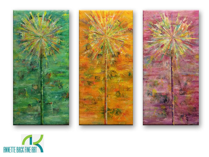 Dandelions by Annette Back - 20x40