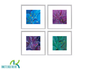 Branches, Set of 4 - Framed Prints