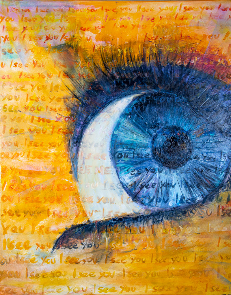 I See You by Annette Back - 24x30