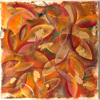Leaves by Annette Back, 12x12/set of 2