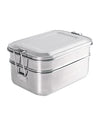 Two-tier Stackable Stainless Steel Lunch Box 1340 ml