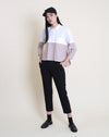 Oki Top White Beige