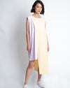 Emiko Dress Yellow Pink