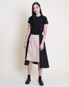 Natsuko Skirt Khaki Black