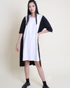 Kasumi Dress Cream Black