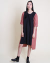 Kasumi Dress Black Brown