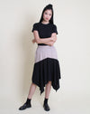 Chika Skirt Beige Black