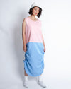 Akiko Dress Pink Blue