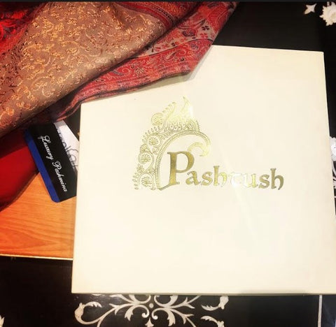 Pashtush Wooden Look Gift Box