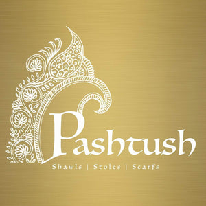 Pashtush Store Pashtush Womens Check Shawl, imported Australian Merino Wool (Comfortable, Warm and Big )
