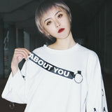 ABOUT YOU RING SHIRT IN WHITE