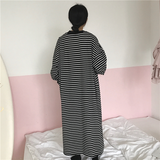 STRIPES OVERSIZED DRESS