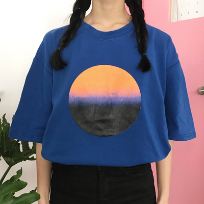 SUNSET SHIRT IN BLUE