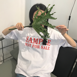 SAMPLE NOT FOR SALE SHIRT