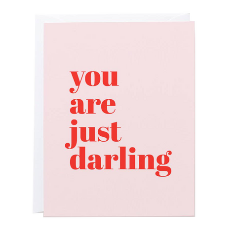 you are just darling