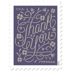 Thank You Stamp 2020 Frever Stamp