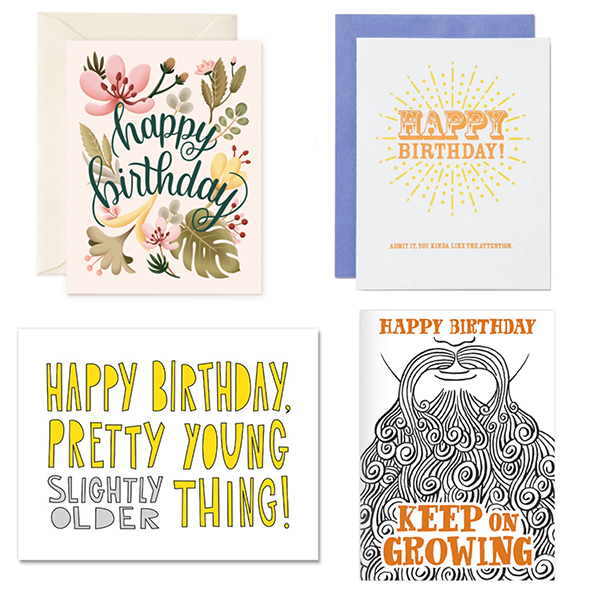 Birthday - 4 Card Bundle