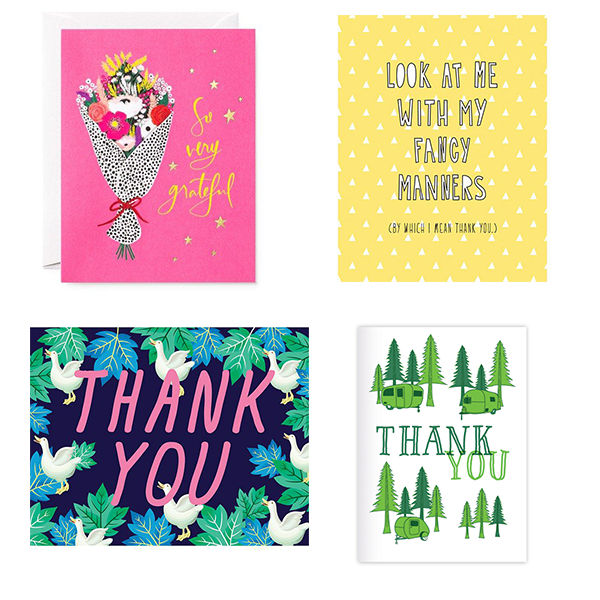 Thank You - 4 Card Bundle