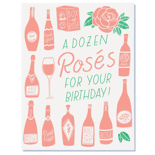 a dozen roses for your birthday card