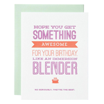 Immersion Blender Birthday