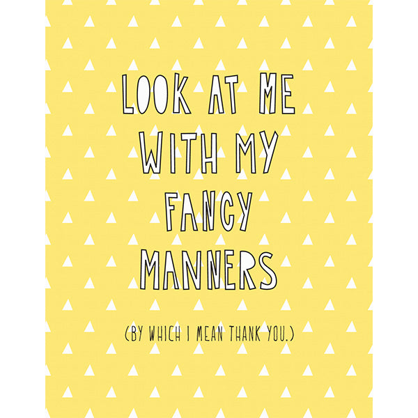Fancy Manners
