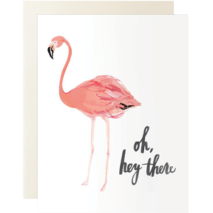 Oh Hey There Flamingo