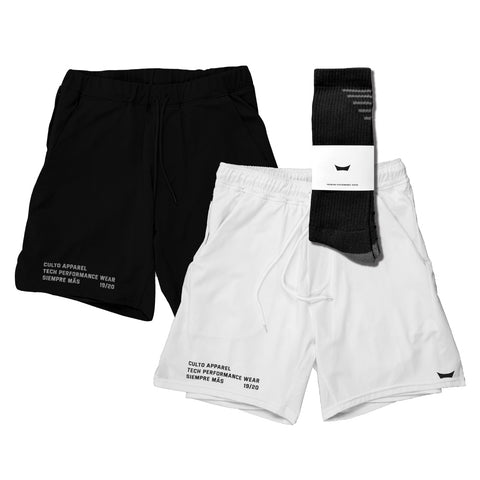 Icon Shorts – Black & White