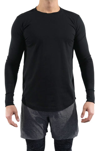 Basic Long Sleeve (Negra)