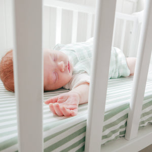 Cot Sheets - Spots & Stripes