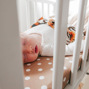 Bassinet Sheets - Spots & Stripes