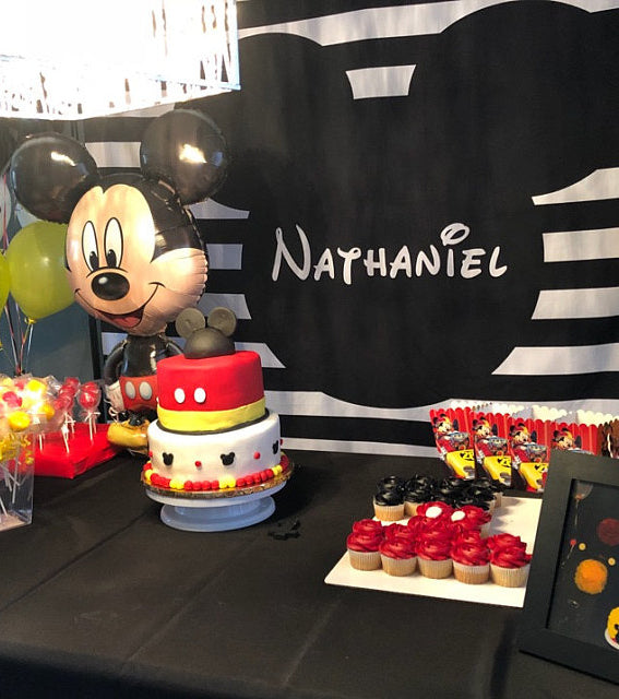 Mickey Birthday Table Decorations