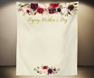 Mother's Day Decorations Backdrop | Mother's Day Ideas - Blushing Drops