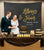 Always and Forever Photo Booth Backdrop | Black and Gold Wedding Reception Decorations - Blushing Drops