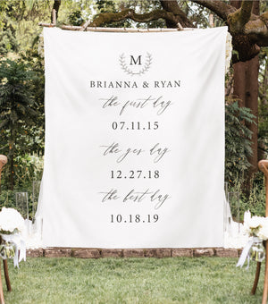 our love story sign backdrop, outdoor wedding backdrop ideas, perfect wedding ideas for fall 2019