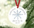 In Loving Memory Ornament | Remembrance ornament