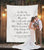Wedding Vow Backdrop | Calligraphy Wedding Decorations, Rustic Wedding Arch Decor - Blushing Drops