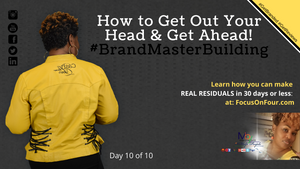 How To Get Out Your Own Head And Get Ahead | Martina Britt Yelverton Text me