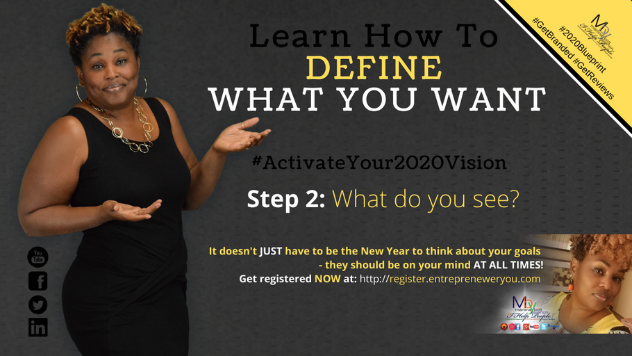Day2: What do you see? | How to Guarantee Your 2020 Goals