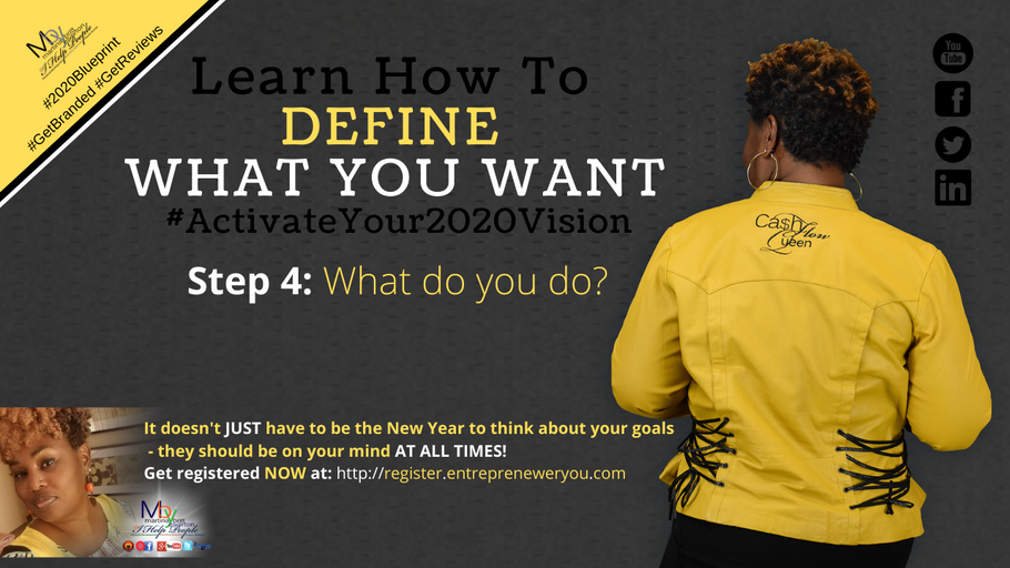Day 4: What do you do | How to Guarantee Your 2020 Goals