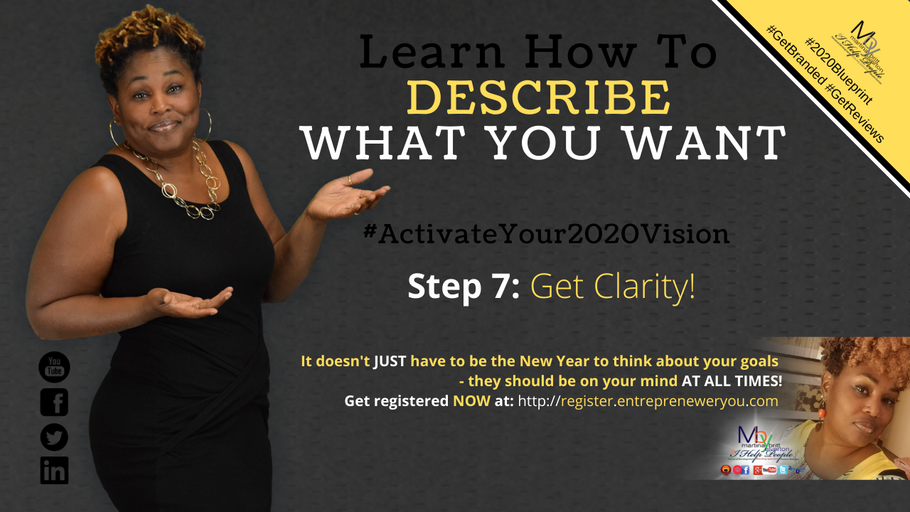Day 7: Get Clarity | How to Guarantee Your 2020 Goals