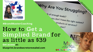 How To Get Simplified Branding with #BrandMaster Martina Britt Yelverton