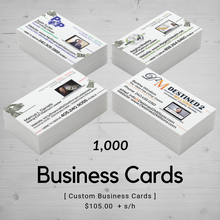 Business Card | Templated (1,000)