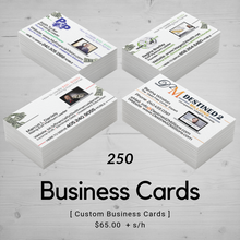 Business Card | Templated (250)