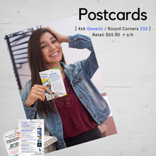 Postcards | 4x6 Generic (100)