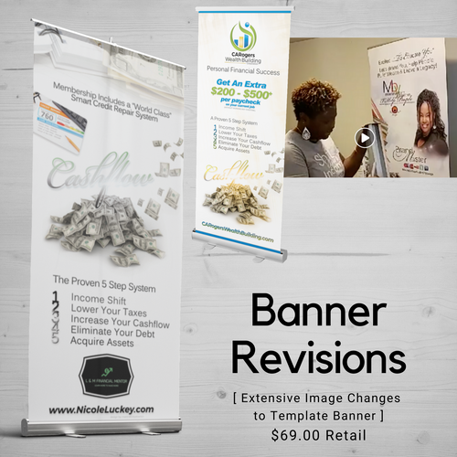 Banners | Revision Design Fee