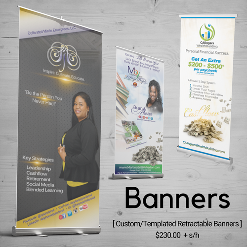 Banners | 6ft Retractable Banner
