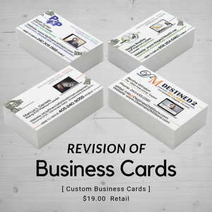 Business Card | Design Revision